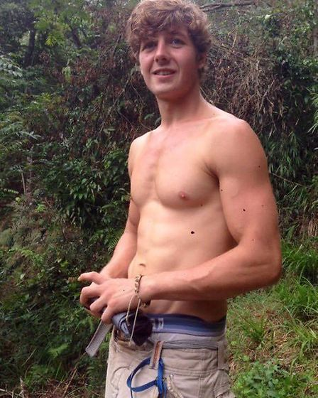 Aiden Webb, who has gone missing in Vietnam. Pic: Submitted.