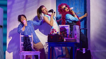 MAMMA MIA! International Tour is coming to Norwich Theatre Royal. Photo: Brinkhoff/Moegenburg.