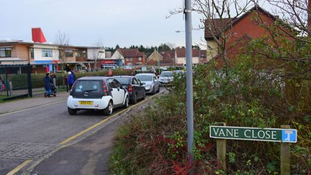 Thorpe Town Council are looking to close off Vane Close, outside Dussindale Primary School, for a we