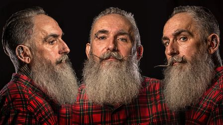 This one came second in the Portrait category. It's called Three views of Nigel, by Des King