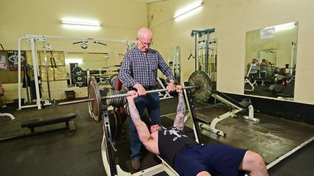 Apollon Gym facing closure. Gym member Terry Neve. Picture: ANTONY KELLY
