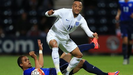 Norwich City winger Nathan Redmond has helped the England Under-21s win in Toulon. Picture: Nigel Fr