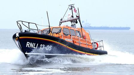 Lowestoft Lifeboat. Picture: ERIC JOHNSTONE