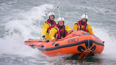 Wells inshore lifeboat.Picture by SIMON FINLAY.