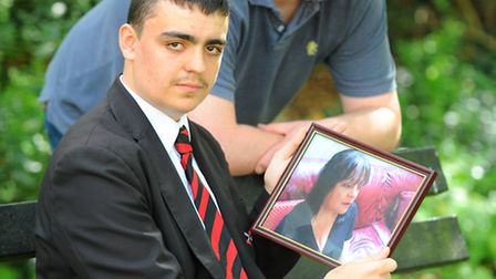 Caleb Manship who had to wait for his mothers ashes to be returned by the Norfolk and Norwich Univer