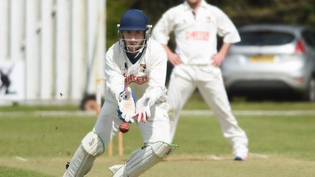 Sam Groves, pictured in action against Lincolnshire in the Knockout Trophy, comes back into the Norf