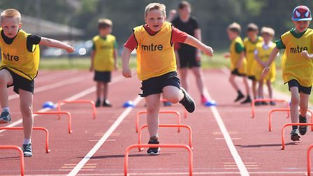 Adapted Sports Day at Lynnsport. Picture: Ian Burt