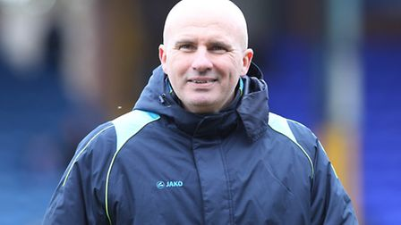 Ady Gallagher, manager of Lowestoft Town. Picture: Michael Sedgwick/Focus Images Ltd