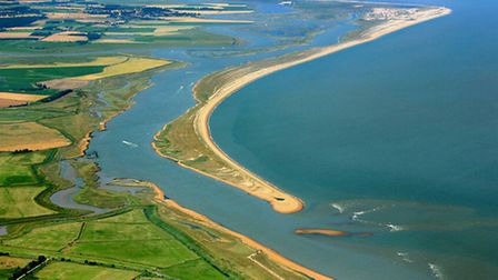 Suffolk's isolated coastline is feared to be an attractive entry point for smugglers. Credit: Mike