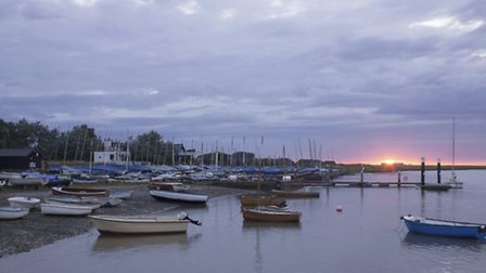 A criminal gang was convicted of smuggling people into the UK under the cover of darkness at Orford.