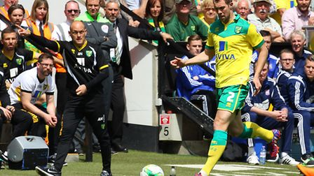 Norwich City defender Steven Whittaker was Alex Neil's first piece of summer transfer business. Pict