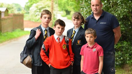 Norfolk County Council is consulting on removing free school transport for children in Catfield and