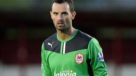 Joe Lewis' time with Cardiff has come to an end. Photo: Martin Rickett/PA Wire