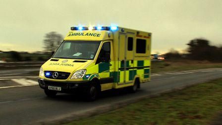 The East of England Ambulance Service Trust is experiencing increasing demand from patients. Photogr