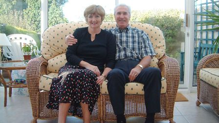 Janette and Duncan Forbes at their home in Thorpe St Andrew