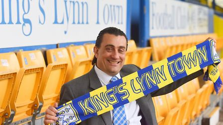 Stephen Cleeve is the new owner of King's Lynn Town Football Club. Picture: Ian Burt