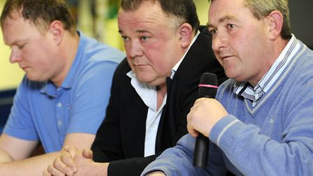From left, in 2010, Gary Setchell, Kevin Boon and Buster Chapman. Picture: MATTHEW USHER