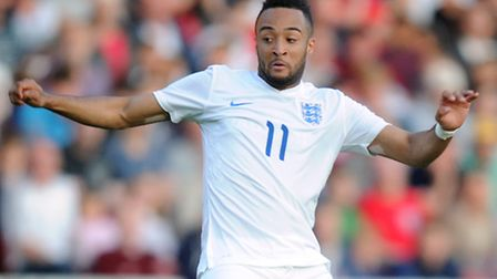 Norwich City winger Nathan Redmond is in Toulon with the England Under-21s. Picture : Martin Rickett
