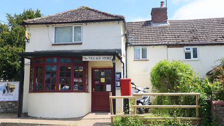 Diana De Gilio has won £1m in the EuroMillions Mega Friday draw. Pictured is the Village Store at Gr