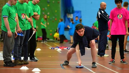 The Panathlon event was held at Waterlane Leisure Centre. PHOTO: Nick Butcher