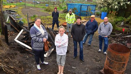 St Margaret's Allotment Association are calling for better security around the site after cases of a