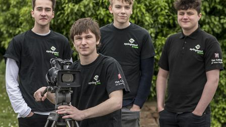 College of West Anglia Springboard TV student Brodie Rake (17), directed the video about King's Lynn