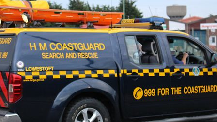 Coastguard teams were called out. Picture: Supplied
