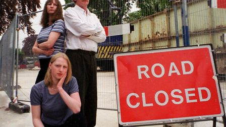 Norwich Roadworks: hindle family annoyed about Earlham Road works, 1999