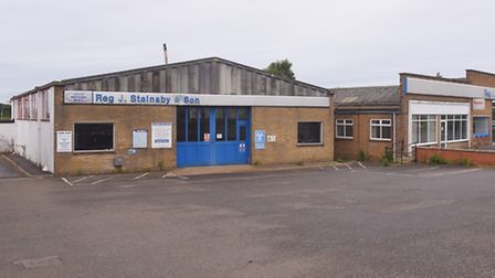 Proposed plans of turning the Stainsby's garage in Heacham into a Lidl store. Picture: Ian Burt