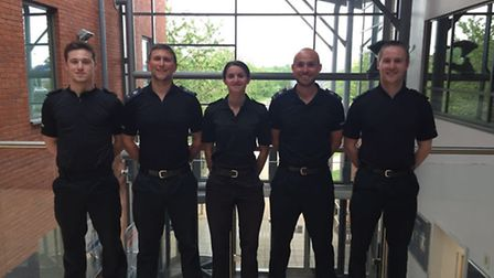 A group of Norfolk police officers are completing the Three Peaks Challenge to help five-year-old Fi