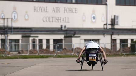 The first ever road ract to be run at the site of the former RAF Coltishall airbase since the Coltis