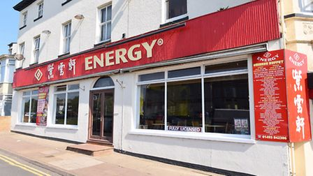Energy Chinese restaurant and takeaway on Marine Parade, Great Yarmouth.Picture: James Bass