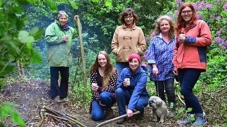 'Women In Wellies' A new conservation group foe women has been set-up at Fairhaven Gardens, South Wa