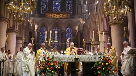 40th anniversary in the Cathedral of St John the Baptist in Norwich