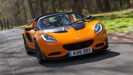 Latest version of the award-winning Lotus Elise is the Cup 250.
