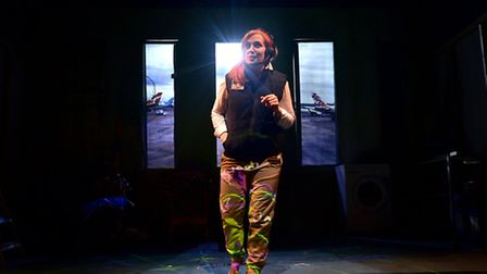 Curious Directive Theatre Company show Spindrift as part of the Norfolk and Norwich Festival.Picture