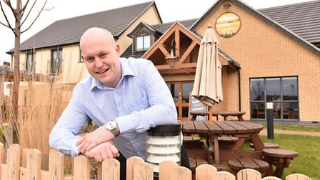 General Manager Keith Fletcher is leaving the Spring Tide pub/restaurant in Lowestoft.Picture: James