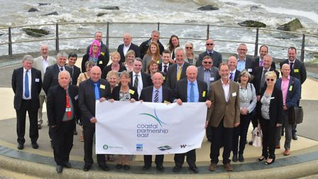 Launch of a new group to manage the east coast from Holkham to Felixstowe at Ness Point, Lowestoft.