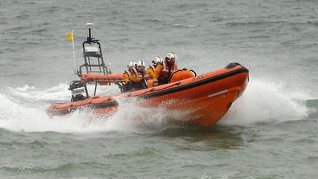 The RNLI were called out last night.
