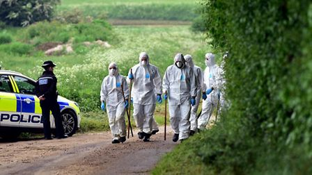 The search for Syliva Stuart, who is now believed to have been murdered. Picture: Sonya Duncan