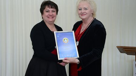 Staff from Academy Transformation Trust have been honoured with awards at the House of Commons. Pict
