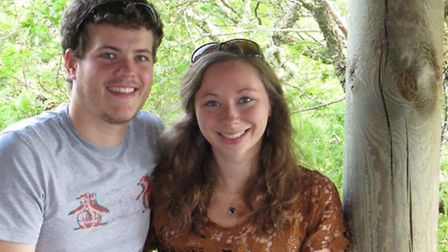 Oliver Appleby, 24, and Sarah Delf, 24,died in a crash on the A140 in Brome in November 2015. Pictur