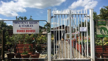 Scratby Garden Centre is closed following fire, July 17, 2016
