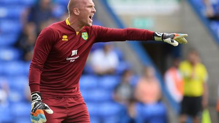John Ruddy is one of a number of Norwich City players who have been relegated twice in recent season
