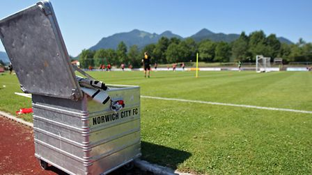 Norwich City have returned to central Europe for a week-long training camp in Austria after being ba