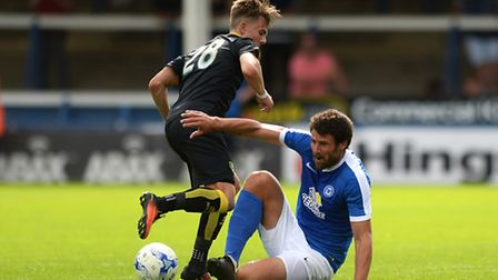 James Maddison earned praise from Alex Neil after his run-out for Norwich City at Peterborough. Pict