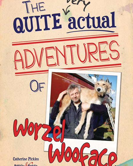 The jacket of the Worzel book.