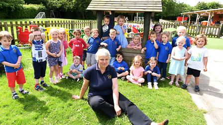Anne Craske is retiring from Ormesby Village pre-school after 32 years.Picture: James Bass