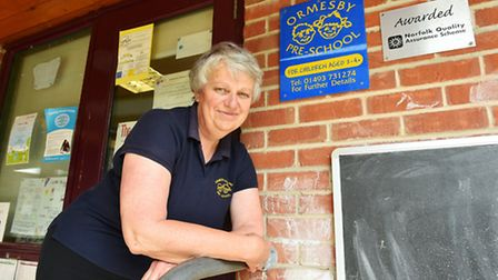 Anne Craske is retiring from Ormesby pre-school after 32 years.Picture: James Bass