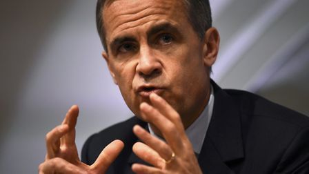 Governor of the Bank of England Mark Carney. Photo credit: Dylan Martinez/PA Wire